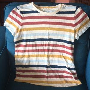 Madewell striped tee shirt NWT